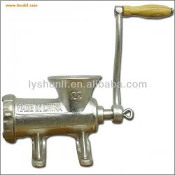 Cast iron Handle operating meat mincer, Manual Meat Grinder, meat mixer grinder