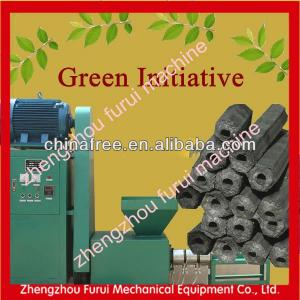 CE approved charcoal briquettes machine from sawdust