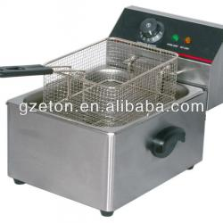 CE approved electric single deep fryers