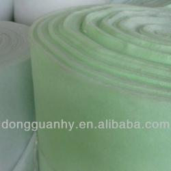 ceiling filter fabric for spray paint booth