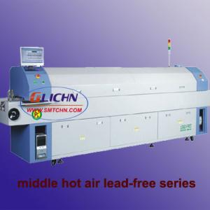 chain and mesh belt smt reflow oven GLICHN MR series
