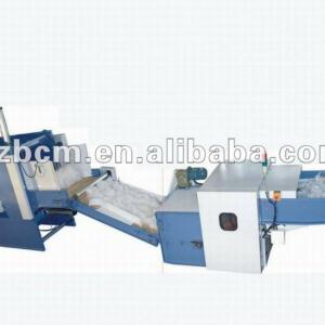 china ball fiber carding machine in machinery