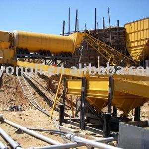China Placer Trommel Gold Wash Plant