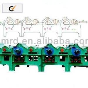CHINA TEXTILE WASTE RECYCLING MACHINE SUPPLIER (GM250-4)
