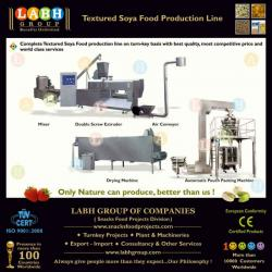 Complete Production Line for Texturised Soya Soy Protein Food Processing