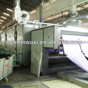 Conveyor belt drying machine for textile
