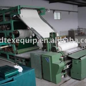 cotton coverting and rewinding machine