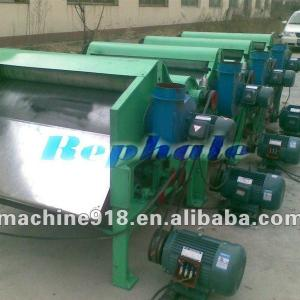 cotton fibre and waste cloth recycling machine