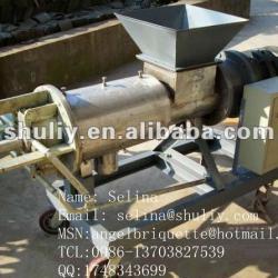 Cow dung dewater machine / water separate machine/ pig manure dewater macine 0086-13703827539
