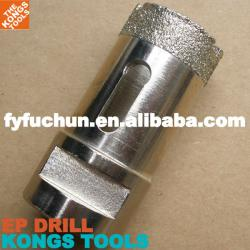 Diamond Bits Drill: Electroplated Diamond Core Drill Bit
