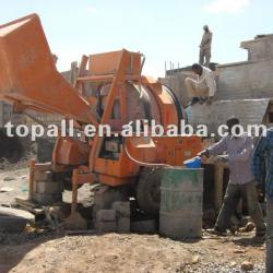 Diesel Hydraulic Concrete Mixer