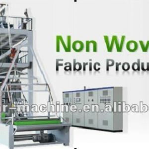 DL-1600 Full automatic non woven fabric making machine