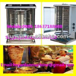 doner kebab production machine for meat roasting