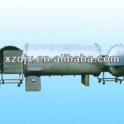 Double doors horizontal sterilizing kettle