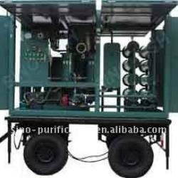 Double-Stage High-Efficiency Vacuum Insulation Oil Purifier