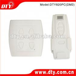 Dual DC tubular motor wireless remote control