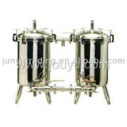 duplex strainer for the milk production line