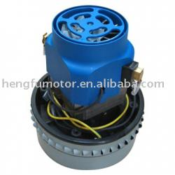 electric motor for wet and dry vacuum cleaner