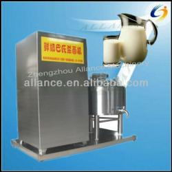Electric stainless steel fresh milk pasteurization machine