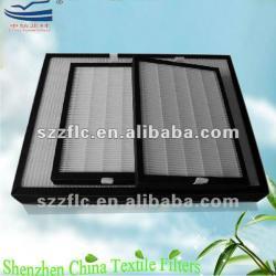 Electrostatic Glassfiber Mini Pleated Hepa air filter