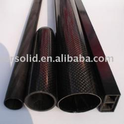 Epoxy resin with carbon fiber tube for higher strength parts