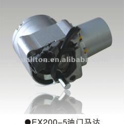 Excavator Parts HITACHI EX200-5 Throttle Motor Assembly 4614911