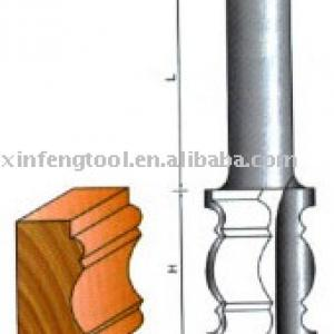 Face Moulding Bits with different arc knife