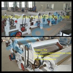 Fiber Waste Tearing Machine/ Waste Cotton Recycling Machine/ Rag Tearing Machine/ Carpet Waste Tearing Machine0086-15837162831
