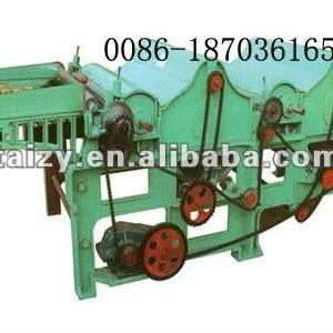 Fibre Opening and Tearing Machine/Fabric Tearing Machine/Fabric opening machine/Textile waste recycling machine 0086-18703616536