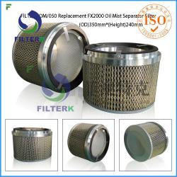 FILTERK OM/050 Replacement Filtermist FX2000 Oil Mist Separator Filter
