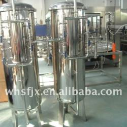 filters in water treatment system