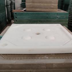filtration/separation chamber filter plate