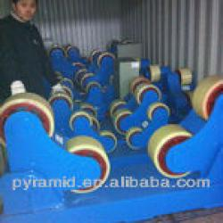 fit up painting welding turning roller mahcine