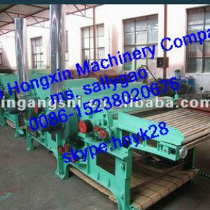five rollers textile tearing machine/second hand rag tearing machine