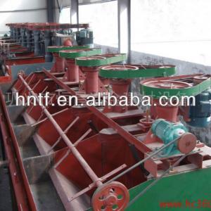 Flotation machine for gold, copper, lead zinc seprating