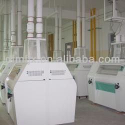 flour mill 80~120tpd multi-storey structure