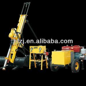 For complex stratum YJQ-100 core DTH drilling rig machine