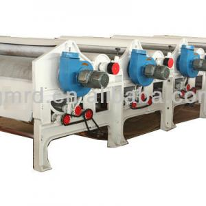 Four-Roller Cotton / textile waste recycling machine line