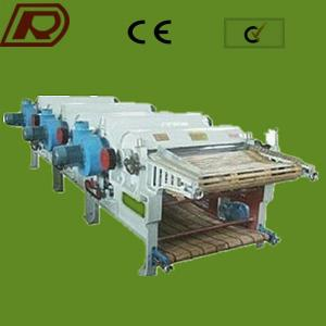 Four roller GM-410 Textile Waste Recycling Machine