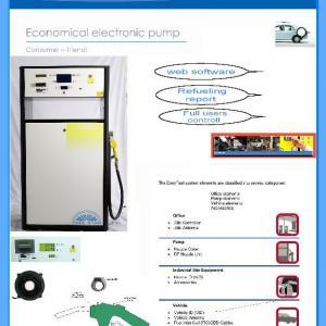 Fuel dispenser web controll