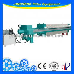 Fully automatic!Membrane filter press for oil industry