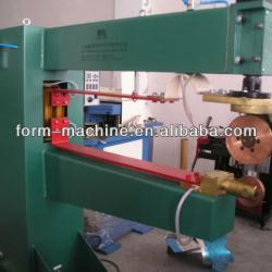 Galvanised metal tubes seam welding machine