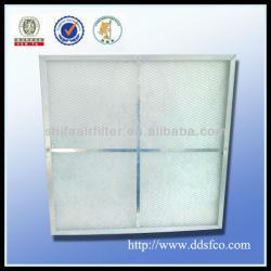Galvanized frame primary panel filter--China