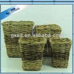 Garden Supplies Wicker Corn Planter