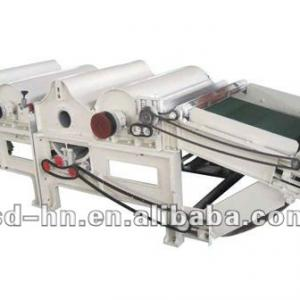 Garment recycle machine For Three Rollers