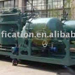 GER-4 used engine oil purification machine