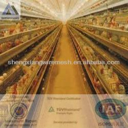 Germany TUV Rheinland)shengxiang chicken layer cage(factory)
