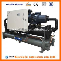 Glycol 20~50ton Screw Water Chiller for Pharmaceutical Manufacturing / Cold Processing Equipment / Plastic Injection Machine
