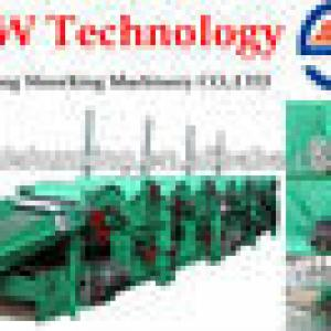 GM-400-6/4/3/2 Textile Recycling /Cleaning Machine, manufacturer ISO9001