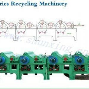 GM-610/410/310/210 textile waste recycling machine